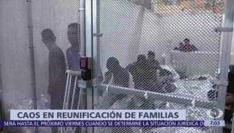 Juez ordena al Gobierno Trump plan para reunir a familias migrantes