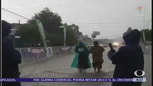 La raramuri Lorena Ramírez corre maratón durante tormenta y gana