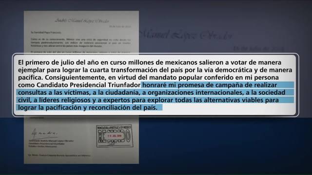 López Obrador Envía Una Carta Papa