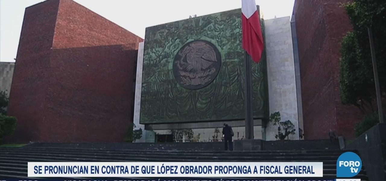 Legisladores Se Pronuncian Contra Fiscal Carnal Amlo