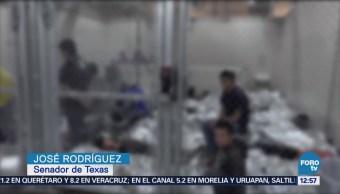 Legisladores texanos piden a Trump liberar a niños migrantes