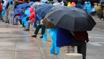 Se fortalecen lluvias en CDMX; activan alerta amarilla en 11 delegaciones