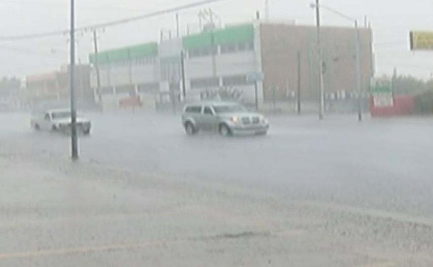 Continúa alerta amarilla por lluvias en Chihuahua