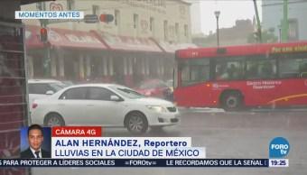 Lluvias Afectaciones Viales Centro Cdmx