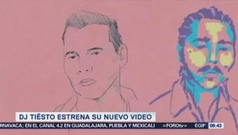 #LoEspectaculardeME: 'DJ Tiësto' estrena video para su éxito 'Jackie Chan'