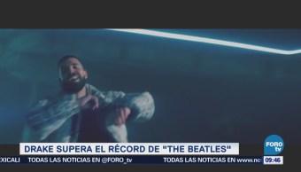 #LoEspectaculardeME: El rapero 'Drake' coloca varios temas en las listas de popularidad