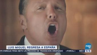 #LoEspectaculardeME: Luis Miguel regresa a España y llena auditorio con 17 mil personas