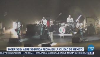 #LoEspectaculardeME: 'Morrisey' abre segunda fecha en la Ciudad de México