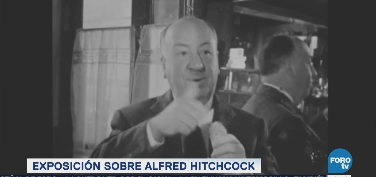 #LoEspectaculardeME: Presentarán exposición de Alfred Hitchcock en la Cineteca