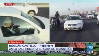 López Obrador inicia su jornada de labores