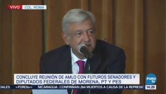 López Obrador Presenta Agenda Legislativa AMLO