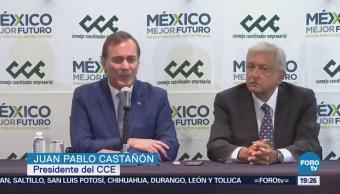 López Obrador Tiene Primera Reunión Empresarios Elección