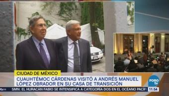 Los mexicanos esperan logros de AMLO, dice Cuauhtémoc Cárdenas