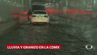 Tormenta Granizo Colapsa Cdmx Lluvia Inundaciones