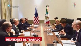 Comitiva Estadounidense Sostiene Reuniones Funcionarios Mexicanos