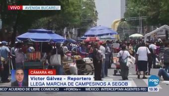 Manifestantes Bloquean Tránsito Avenida Bucareli Cdmx