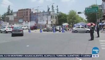 Manifestantes Mantienen Plantón Avenida Bucareli CDMX