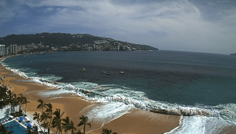 Mar de fondo provocará oleaje alto en el Pacífico
