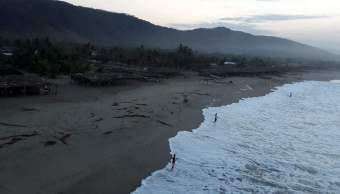 Se mantiene la alerta por mar de fondo en costas de Oaxaca