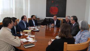 Videgaray y Guajardo se reúnen con equipo de transición de AMLO