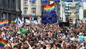 Alrededor de 30,000 personas participan en Londres en marcha