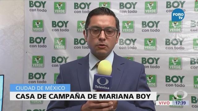 Mariana Boy dice confiar en las