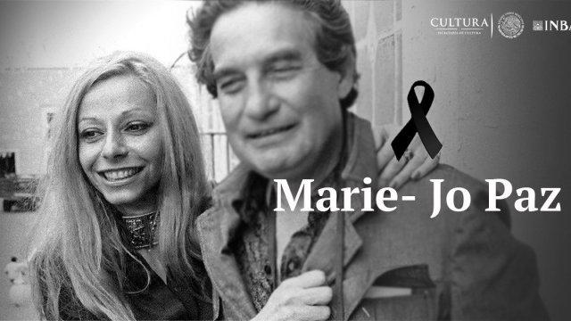 Mundo cultural resalta labor de Marie-Jo como musa de Paz
