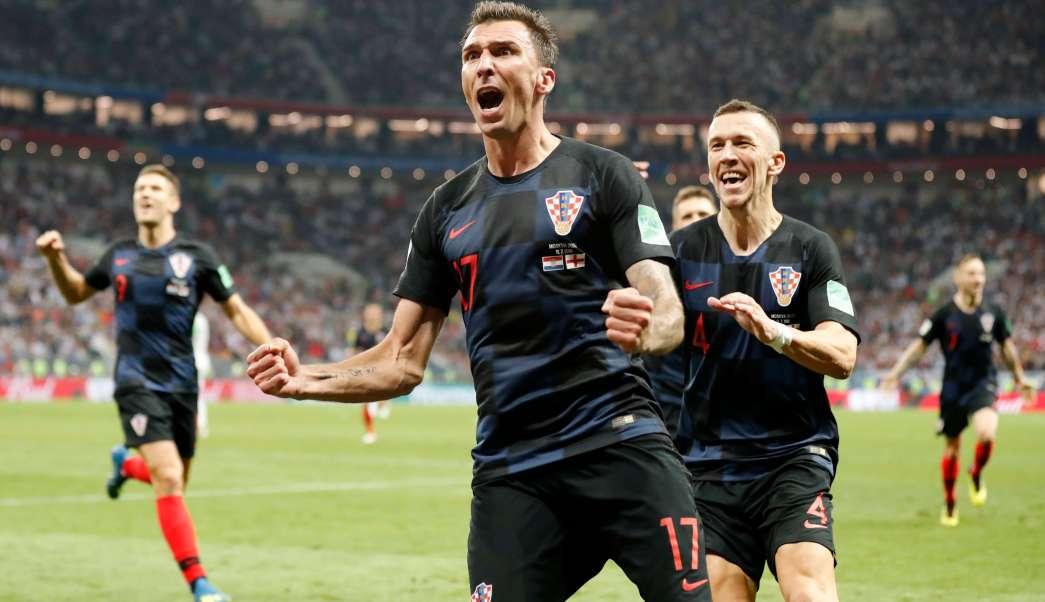 Inglaterra intentó empatar mientras Croacia celebraba