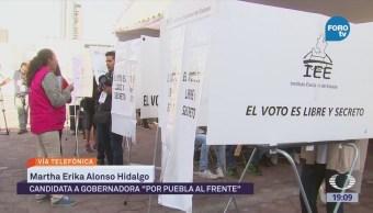 Martha Erika Alonso Optimista Tendencia Elección Puebla
