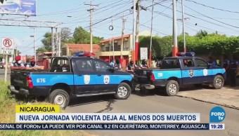 Matan Dos Estudiantes Nicaragua Protestas Daniel Ortega
