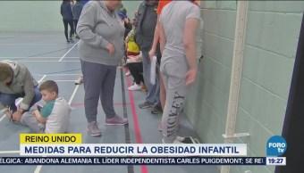Medidas Reducir Obesidad Infantil Reino Unido