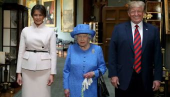 Un honor conocer a la reina Isabel II: Melania Trump
