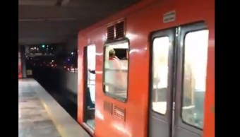 Desprendimiento de vagones del Metro no representó riesgo: Autoridades