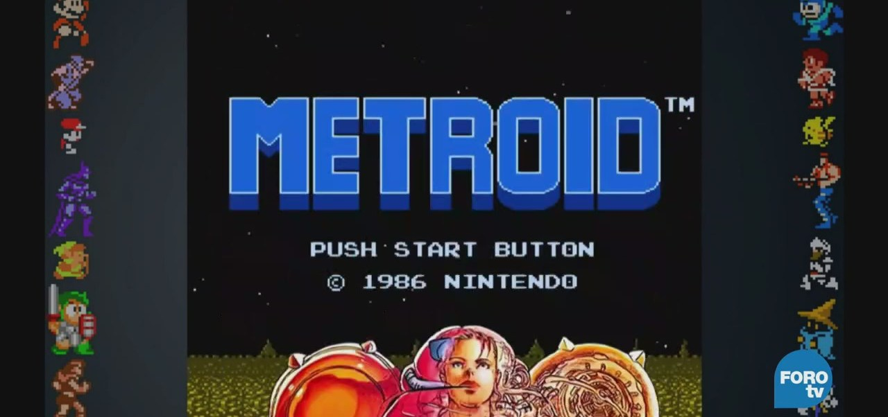 Metroid, uno primeros videojuegos protagonizados mujer