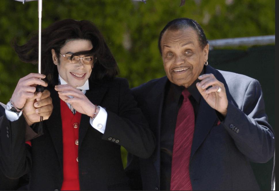 Michael Jackson y su padre, Joe Jackson. (Reuters, archivo)