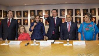 Eligen a Osorio Chong como coordinador del PRI en Senado