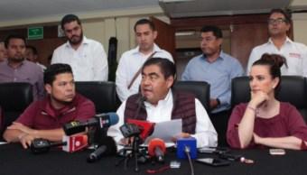 Barbosa pide apertura de casillas en Puebla
