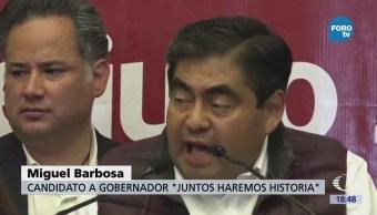 Miguel Barbosa Condena Violencia Presenta Puebla