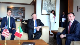 Mike Pompeo destaca importancia de la relación México EU