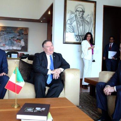 Mike Pompeo destaca importancia de la relación México-EU