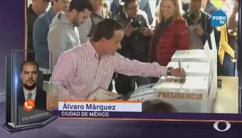 Mikel Arriola Emite Voto Ciudad De México