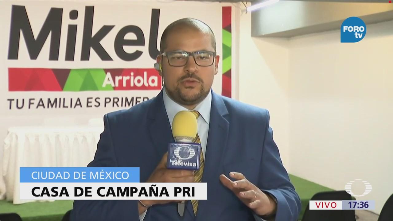 Mikel Arriola Espera Resultados Elecciones Casa Campaña