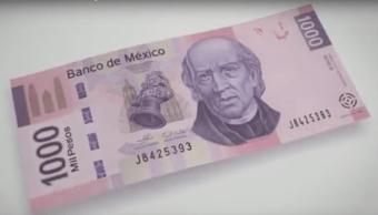 Billete Mil Pesos Banco México Ley