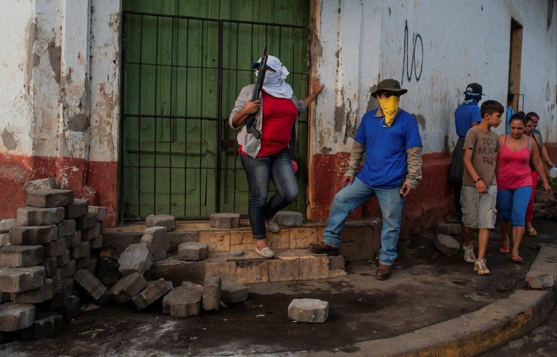 La ofensiva del gobierno nicaragüense en Masaya