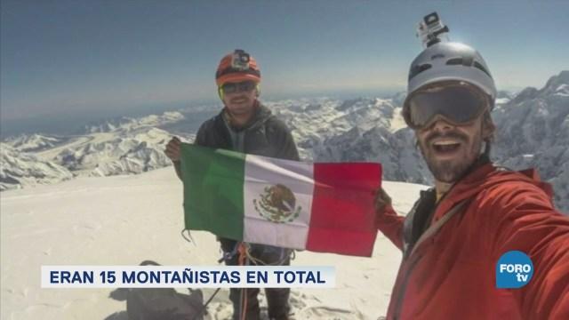 Mueren Montañistas Mexicanos Nevado Artesonraju Perú
