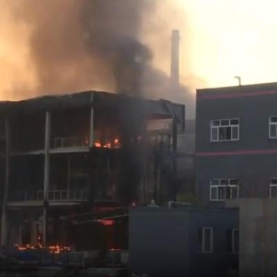 Explosión en parque industrial chino provoca 19 muertos y 12 heridos