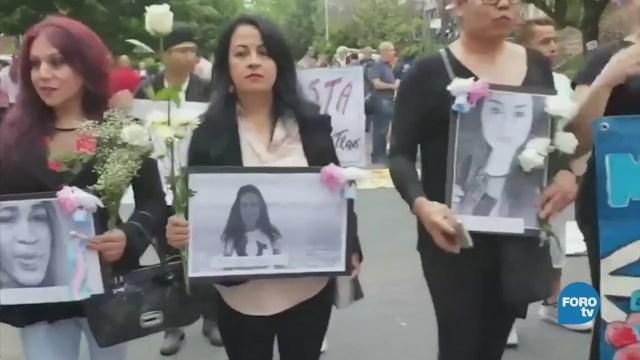 Mujeres transgénero migrantes violencia Estados Unidos