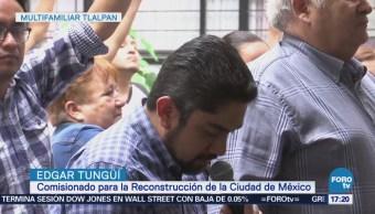 Multifamiliar Tlalpan Oficializa Apoyo Reconstrucción