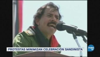 Nicaragua conmemora la rebelión contra Somoza