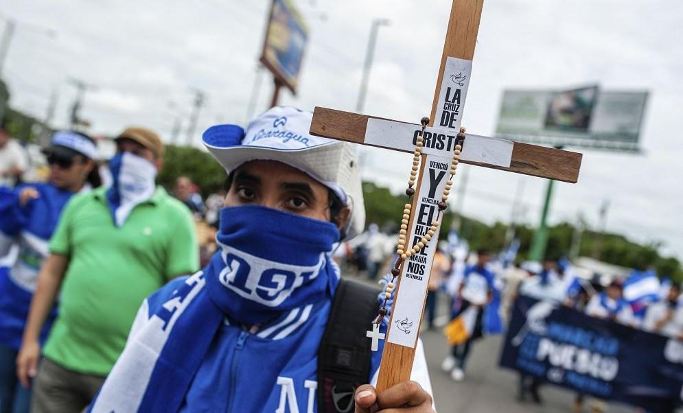 Iglesia católica es perseguida en Nicaragua, afirma cardenal